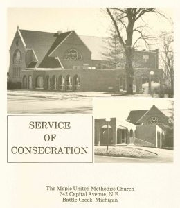 Program for the Service of Consecration, March 17, 1974